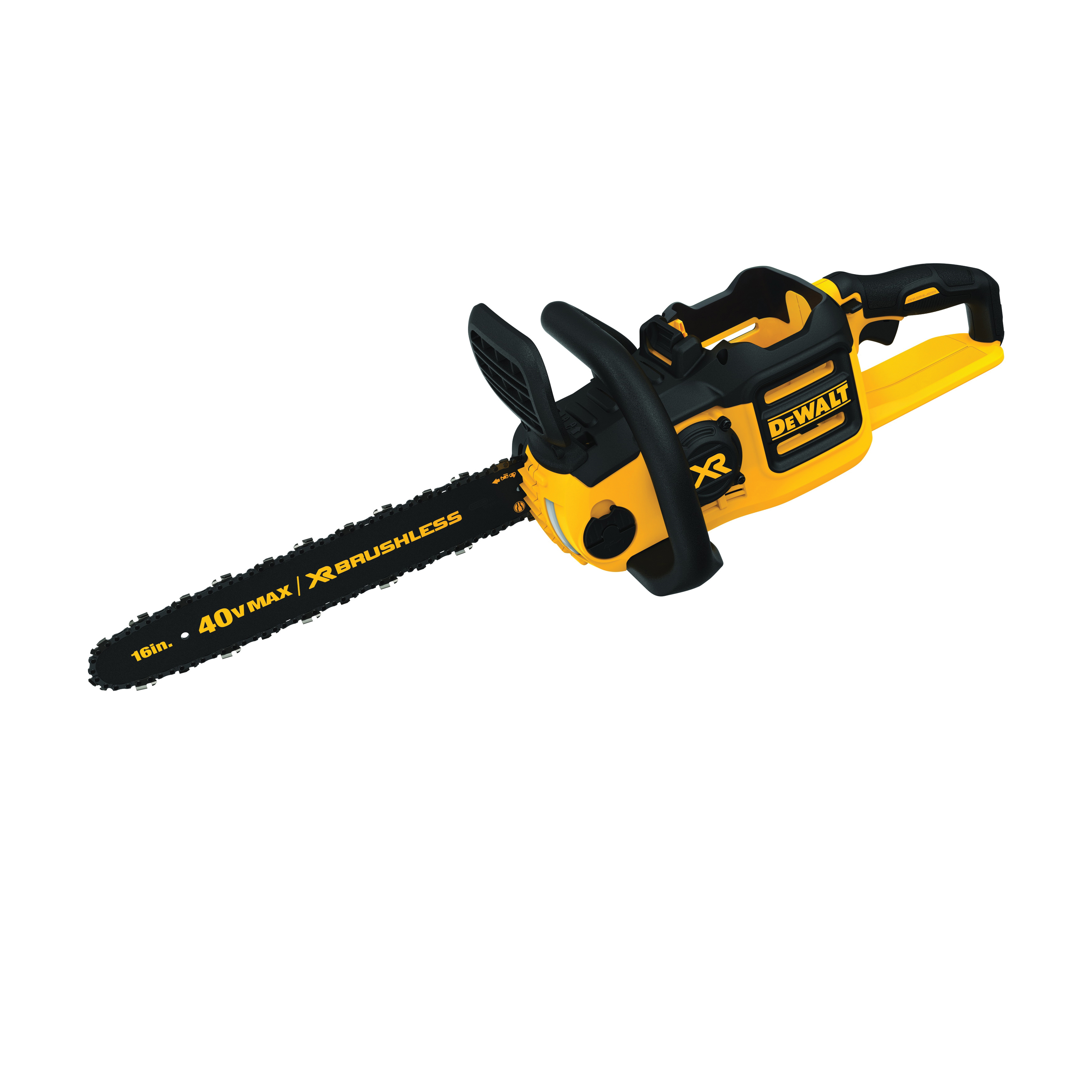 DeWALT® 40V MAX* DCCS690B XR® Brushless Cordless Chain Saw, 0.043 in Bar/Chain, 16 in L Bar/Chain, 40 V, 6 Ah Lithium-Ion Battery, Bare Tool
