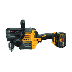 DeWALT® 60V MAX* FLEXVOLT™ DCD460T1 Brushless Cordless VSR Stud and Joist Drill With E-Clutch® System, 1/2 in Keyed Chuck, 60 V, 0 to 300/0 to 1250 rpm No-Load, 16 in OAL, Lithium-Ion Battery, Tool Only