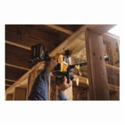 DeWALT® 60V MAX* FLEXVOLT™ DCD460T2 Brushless Cordless VSR Stud and Joist Drill With E-Clutch® System, 1/2 in Keyed Chuck, 60 V, 0 to 300/0 to 1250 rpm No-Load, 16 in OAL, Lithium-Ion Battery, Tool Only