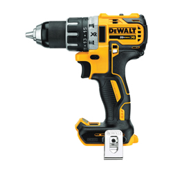 DeWALT® 20V MAX* MATRIX™ DCD791B XR® Compact Lightweight, 1/2 in Chuck, 20 VDC, 0 to 550/0 to 2000 rpm No-Load, 6-7/8 in OAL, Integrated/Lithium-Ion Battery