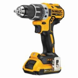 DeWALT® 20V MAX* MATRIX™ DCD791D2 XR® Compact Lightweight Cordless Drill/Driver Kit, 1/2 in Chuck, 20 VDC, 0 to 550/0 to 2000 rpm No-Load, 6.9 in OAL, Integrated/Lithium-Ion Battery