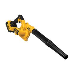 DeWALT® 20V MAX* MATRIX™ DCE100M1 Compact Jobsite Cordless Blower Kit, 100 cfm Air Flow, 135 mph Air Velocity, 20 V 4 Ah Lithium-Ion Battery