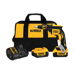 DeWALT® 20V MAX* DCF620M2 Cordless Screwgun Kit, 1/4 in Chuck, 20 VDC, Lithium-Ion Battery