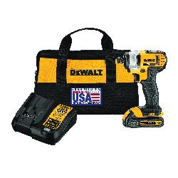 DeWALT® 20V MAX* MATRIX™ DCF885C1 Cordless Impact Driver Kit, 1/4 in Hex/Straight Drive, 3200 bpm, 1400 in-lb Torque, 20 VDC, 5.55 in OAL