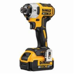 DeWALT® 20V MAX* DCF887M2 XR™ Compact Lightweight Cordless Impact Driver Kit, 1/4 in Quick-Release Drive, 3600 ipm, 1825 in-lb Torque, 20 V