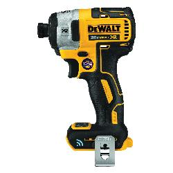 DeWALT® 20V MAX* Tool Connect™ DCF888B XR® Brushless Cordless Impact Driver, 1/4 in Straight Drive, 3800 bpm, 1825 in-lb Torque, 20 VDC, 5.3 in OAL, Tool Only