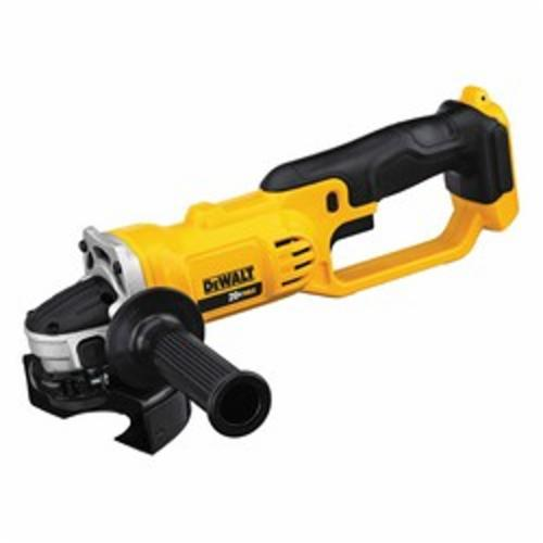 DeWALT® DCG412B Cordless Cut-Off Tool, 4-1/2 in Dia Wheel, 5/8 in Arbor/Shank, 20 VDC, Lithium-Ion Battery, 2-Finger Trigger Switch, Tool Only