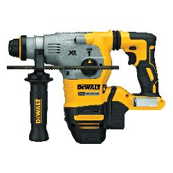 DeWALT® 20V MAX* DCH293B Brushless Cordless Rotary Hammer, 1-1/8 in Keyless/SDS Plus® Chuck, 20 VDC, 0 to 1000 rpm No-Load, Lithium-Ion Battery