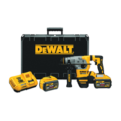 DeWALT® 20V MAX* DCH293X2 XR™ Brushless Cordless Rotary Hammer Drill, 1 in SDS Plus Chuck, 20 V, 0 to 1000 rpm No-Load, Lithium-Ion Battery