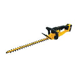DeWALT® 20V MAX* MATRIX™ DCHT820P1 Hedge Trimmer Kit, 3/4 in Cutting, Hooked Tooth/Double Sided Blade, 20 V, Lithium-Ion Battery, Plastic Housing