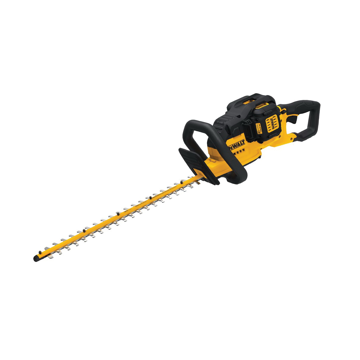 DeWALT® MAX XR® DCHT860M1 1-Speed Cordless Hedge Trimmer, 3/4 in Cutting, Double Sided Dual Action Blade, 40 V, Lithium-Ion Battery, Plastic Housing