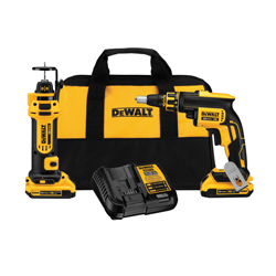 DeWALT® 20V MAX* DCK263D2 Cordless Combo Kit, 1/4 in Chuck, 20 VDC, Lithium-Ion Battery
