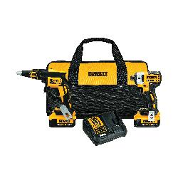DeWALT® 20V MAX* MATRIX™ XR™ DCK267M2 Cordless Combination Kit, Tools: Impact Driver, Screwdriver, 20 V, 4 Ah Lithium-Ion Battery