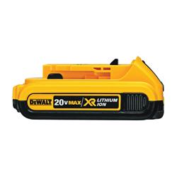 DeWALT® 20V MAX* MATRIX™ XR™ DCK283D2 2-Tool Compact Cordless Combination Kit, Tools: Drill, Impact Driver, 20 V, 2 Ah Lithium-Ion Battery
