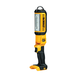 DeWALT® DCL050 Hand Held Rechargeable Cordless Area Light, LED Lamp, 20 VDC, Lithium-Ion Battery, Tool Only