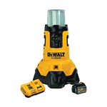 DeWALT® 20V MAX* MATRIX™ DCL070T1 Corded/Cordless Stackable LED Area Light With Tool Connect™ and Built-In Charger, LED Lamp, 20 VDC, Tool Only