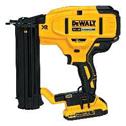 DeWALT® 20V MAX* MATRIX™ DCN680D1 Cordless Nailer Kit, 5/8 to 2-1/8 in Fastener, For Fastener Type: 18 ga Brad Nails, 110 Magazine, Battery