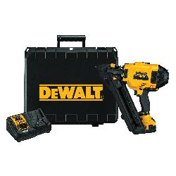 DeWALT® 20V MAX* MATRIX™ DCN693M1 Metal Connector Cordless Nailer Kit, 1-1/2 to2-1/2 in Fastener, 29 Magazine, Battery