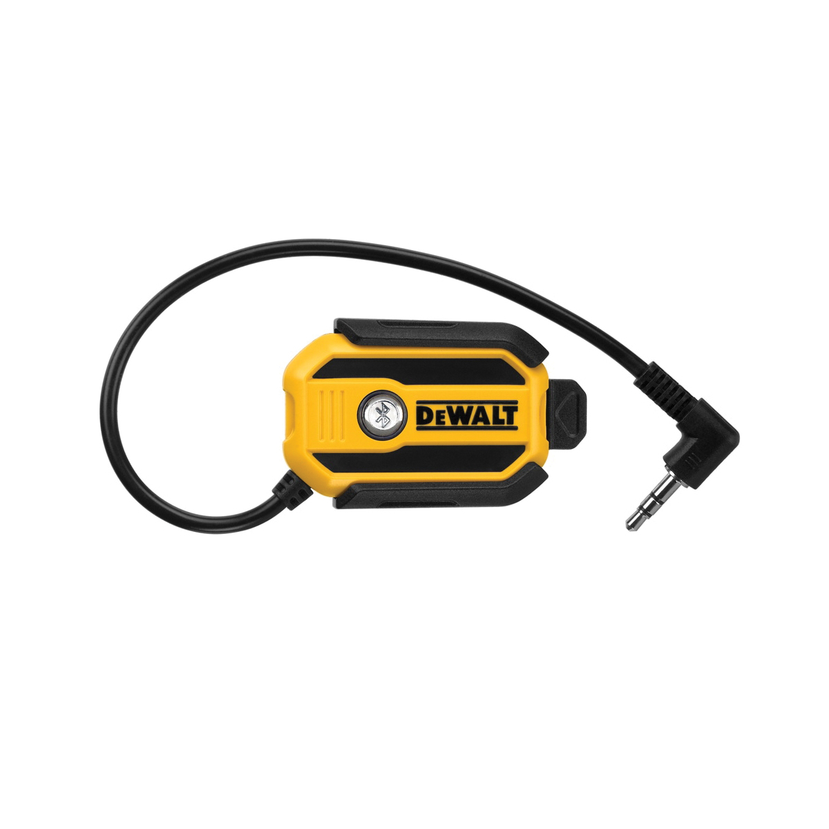 DeWALT® DCR002 Cordless Bluetooth Radio Adaptor, For Use With Any Radio with An Aux Port to Receive a Bluetooth Signal