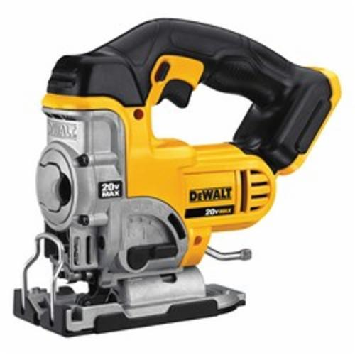 DeWALT® DCS331B 20V MAX* Cordless Jig Saw, 20 VDC, For Blade Shank: T-Shank, 11-1/4 in OAL, Lithium-Ion Battery, Tool Only