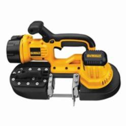 DeWALT® XRP™ DCS370K Heavy Duty Portable Cordless Band Saw Kit, 2-1/2 in Cutting, 32-7/8 in L Blade, 18 VDC, 3 Ah NiCd Battery