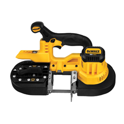 DeWALT® DCS371B Portable Cordless Band Saw, 2-1/2 in Cutting, 32-7/8 in L Blade, 20 VDC, Lithium-Ion Battery