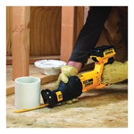 DeWALT® DCS380P1 Max® Cordless Reciprocating Saw Kit, 1-1/8 in L Stroke, 0 to 3000 spm, Orbital Cut, 20 VDC, 18 in OAL