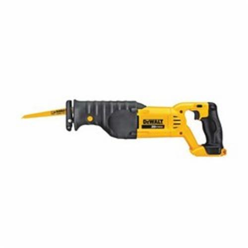DeWALT® DCS380B 20V MAX* High Performance Cordless Reciprocating Saw With Electric Brake, 1-1/8 in L Stroke, 0 to 3000 spm, Orbital Cut, 20 VDC, 18 in OAL
