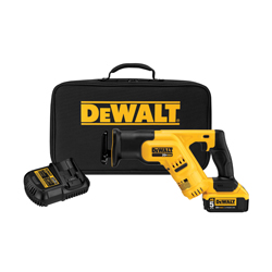 DeWALT® DCS387P1 Max® High Performance Cordless Reciprocating Saw Kit, 1-1/8 in L Stroke, 0 to 2900 spm, Linear Cut, 20 VDC, 14-1/2 in OAL