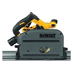 DeWALT® 60V MAX* FLEXVOLT® DCS520B Cordless Track Saw, 6-1/2 in Blade, 1750 to 4000 rpm Speed, 60 VDC, Lithium-Ion Battery, 6 Ah Battery
