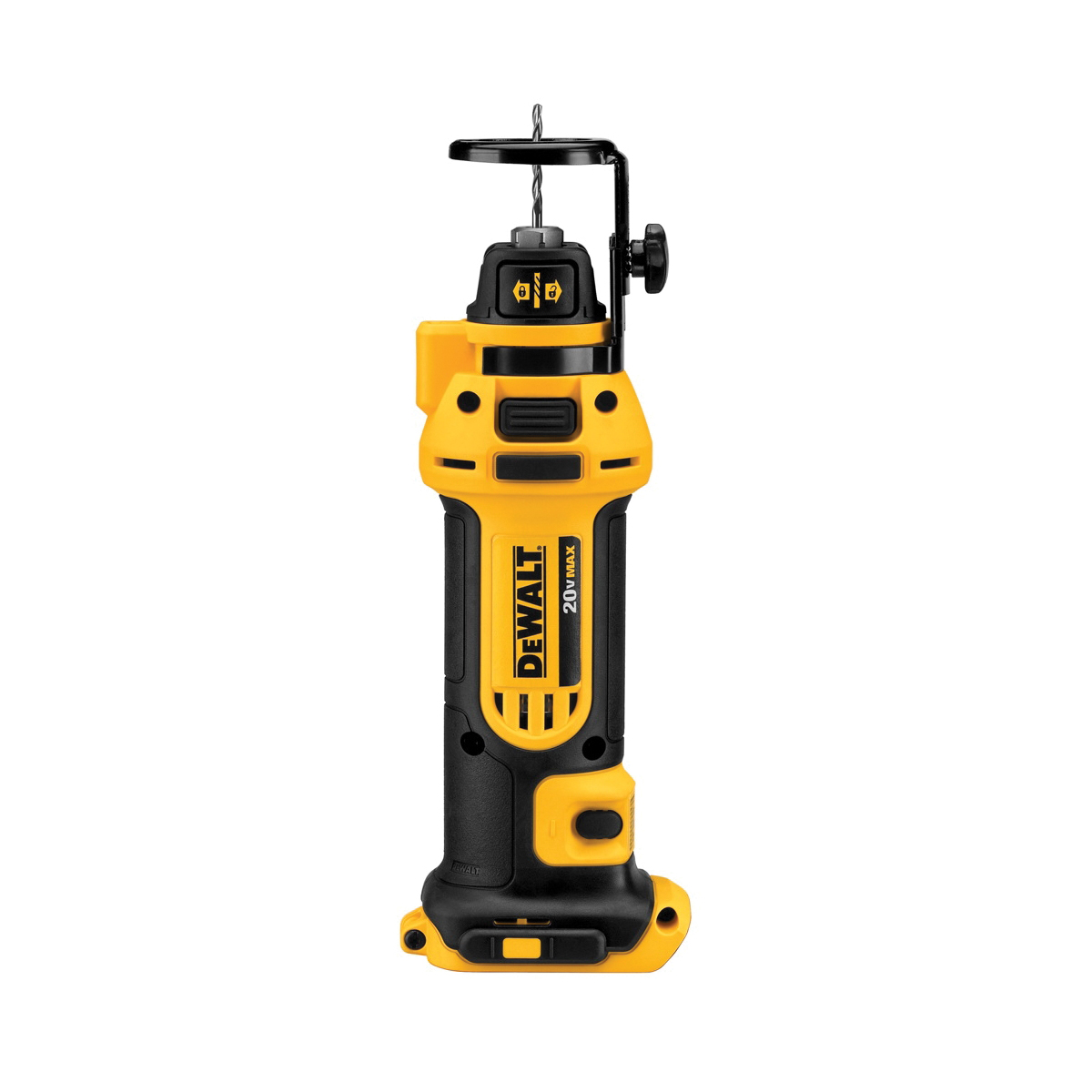 DeWALT® DCS551B Cordless Cut-Out Tool, Lithium-Ion Battery, 20 VDC, 1/4 in, 1/8 in Collet