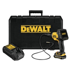 DeWALT® DCT412S1 Inspection Camera Kit, 5.8 mm Dia x 3 ft L Probe