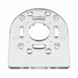DeWALT® DNP614 D-Shaped Sub Base, 1-1/2 in Hole, For Use With Compact Router, Polycarbonate, Clear