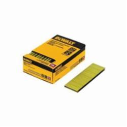 DeWALT® DNS18050-2 Narrow Crown Staples, 1/2 in L Leg, Chisel Point, Steel, 1/4 in W Crown