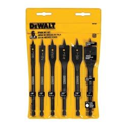 Black+Decker® DW1587 Heavy Duty Wood Boring Bit Set, 6 Pieces