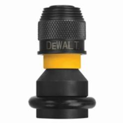 DeWALT® DW2298 Rapid Load® Impact Socket, 1/2 in Square Anvil Drive to Rapid Load® 1/4 in Hex Shank, For Use With Cordless Impact Drivers and Wrench, Alloy Steel, Silver, Black Phosphate