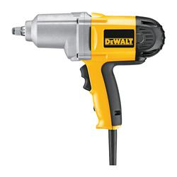 DeWALT® DW293 Impact Wrench, 1/2 in Square Drive, 0 to 2700 bpm, 345 ft-lb Torque, 120 VAC, 11-1/4 in OAL