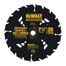 Black+Decker® DW9058 Series 20™ Small Diameter Cordless Small Diameter Cordless Combo Circular Saw Blade, 5-3/8 in Dia x 0.039 in THK, 10 mm Arbor, Steel Blade, 16/30 Teeth