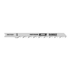 DeWALT® DW3703H High Performance Jig Saw Blade, 4 in L x 1/4 in W, 6, High Carbon Steel Body