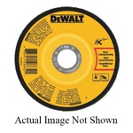 DeWALT® DW4541 Depressed Center Wheel, 4-1/2 in Dia x 1/4 in THK, 7/8 in Center Hole, A24N Grit, Aluminum Oxide Abrasive