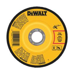 DeWALT® DW4546 Depressed Center Wheel, 6 in Dia x 1/4 in THK, A24N Grit, Aluminum Oxide Abrasive