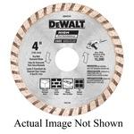 DeWALT® DW4712 Turbo Diamond Blade, 7 in Dia Blade, 2-1/4 in D Cutting, 5/8, 7/8 in Arbor/Shank