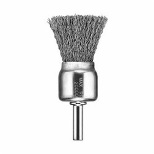 DeWALT® HP™ DW49004 Wire End Brush, 3/4 in, Knot, 0.014 in, Carbon Steel Fill, 7/8 in L Trim
