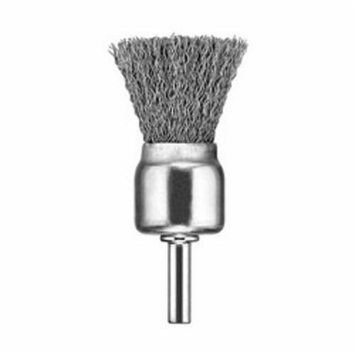 DeWALT® XP™ DW49055 Wire End Brush, 1 in, Knot, 0.02 in, Carbon Steel Fill, 1 in L Trim