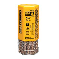 Black+Decker® Guaranteed Tough® DW5446B10 2-Cutter Masonry Drill Bit, 5/8 in Drill Bit, Round Cutting, 25/64 in SDS Plus® Shank, 6 in D Cutting, Carbide Cutting Edge, 8 in OAL
