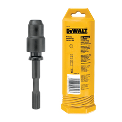 DeWALT® DW5791 Shank Adapter, 1/2 in Drill Bit, Spline to SDS Plus Adapter Shank, For Use With Rotary Hammer Drills