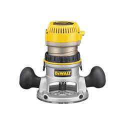DeWALT® DW616 Fixed Base Router, Toggle Switch, 1/4 in, 1/2 in in Chuck, 24500 rpm Speed, 1-3/4 hp, 120 VAC