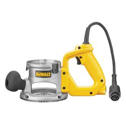 DeWALT® DW6183 Adjustable Heavy Duty D-Handle Base, For Use With DW616 and DW618 Router, Die Cast Aluminum, Clear