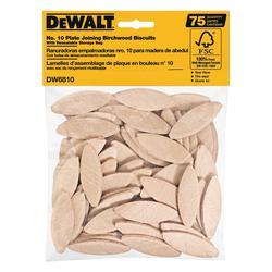 DeWALT® DW6810 Joining Biscuit, #10 Size