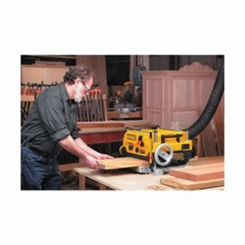 DeWALT® DW735 Portable Planner With 3-Knives, 13 in W Cutting, 1/8 in Depth of Cut, 20000/10000 rpm Speed, 2 hp, 120 VAC, Tool Only